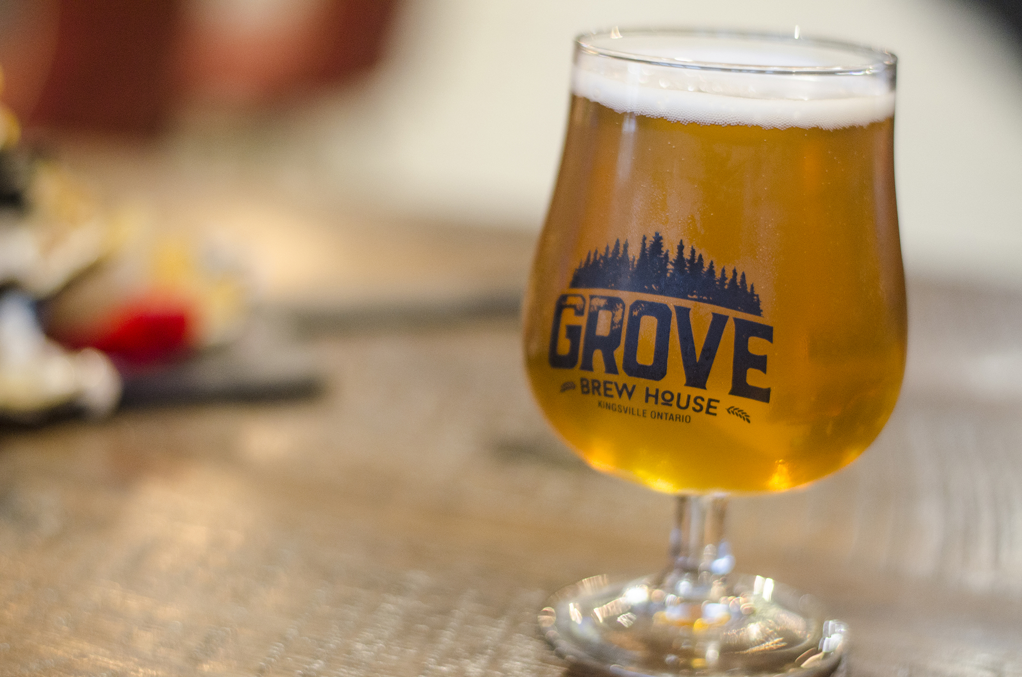 Enjoy some award winning craft beers at The Grove Brew House in Kingsville, Ontario.