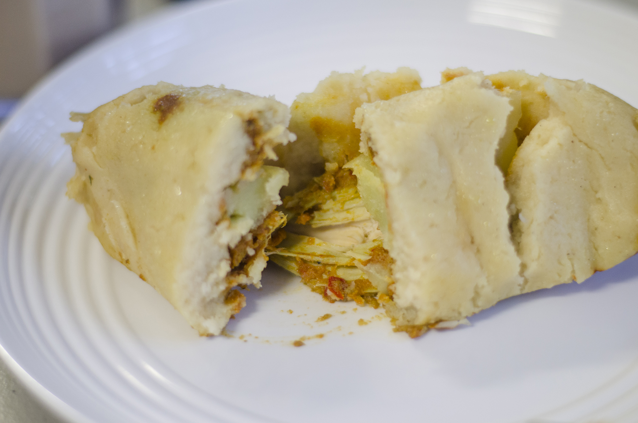A tamale from El Comal in Leamington, Ontario.