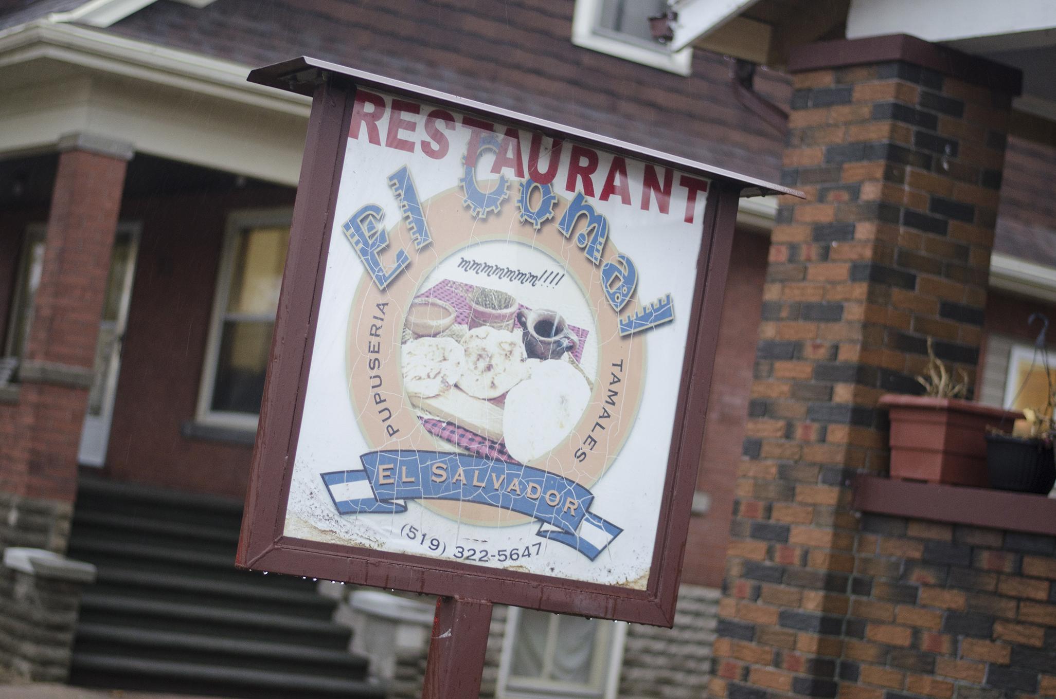 El Comal Restaurant serves up authentic Salvadoran food in Leamington, Ontario.