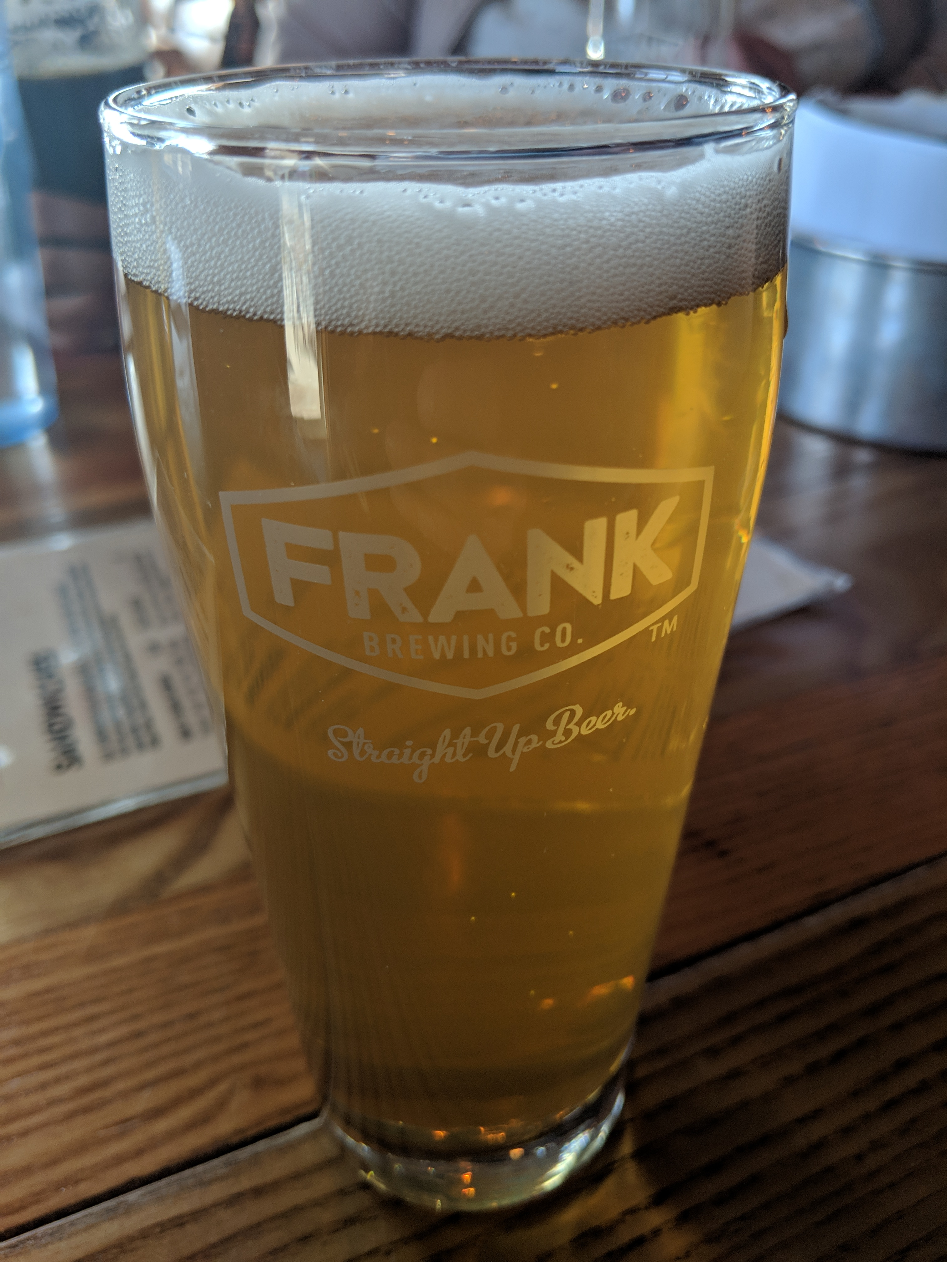 Frank Brewing Co. has released a one-off: The Sasquatch Kolsch.