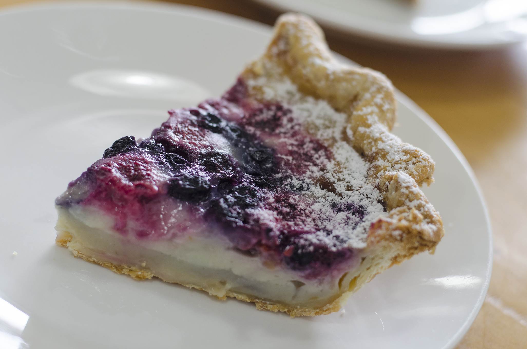 Mixed Berry Clafoutis from Riverside Pie Cafe in Windsor, Ontario.
