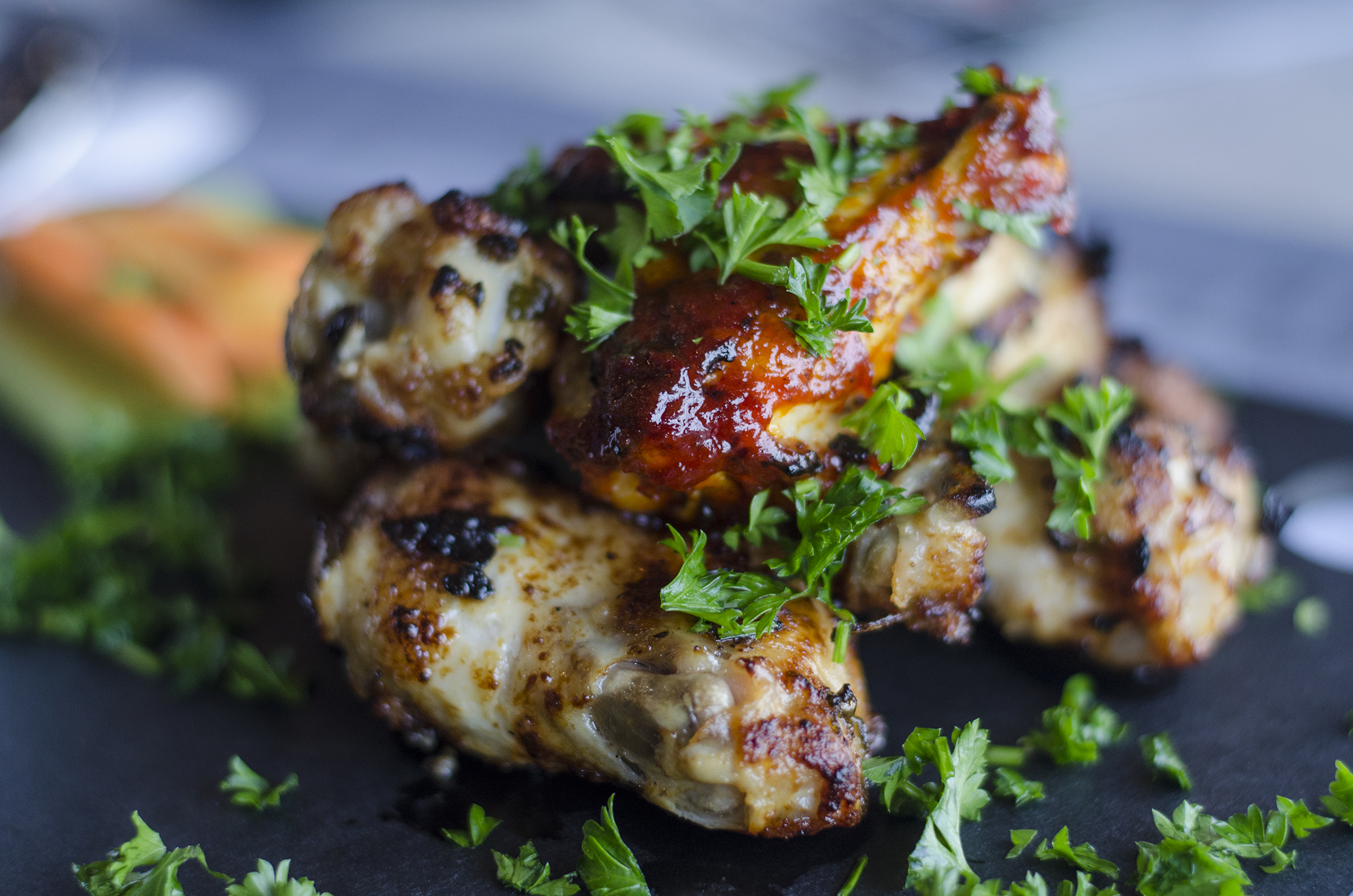 The Jwaneh, Middle Eastern chicken wings, from Souq in Windsor, Ontario.