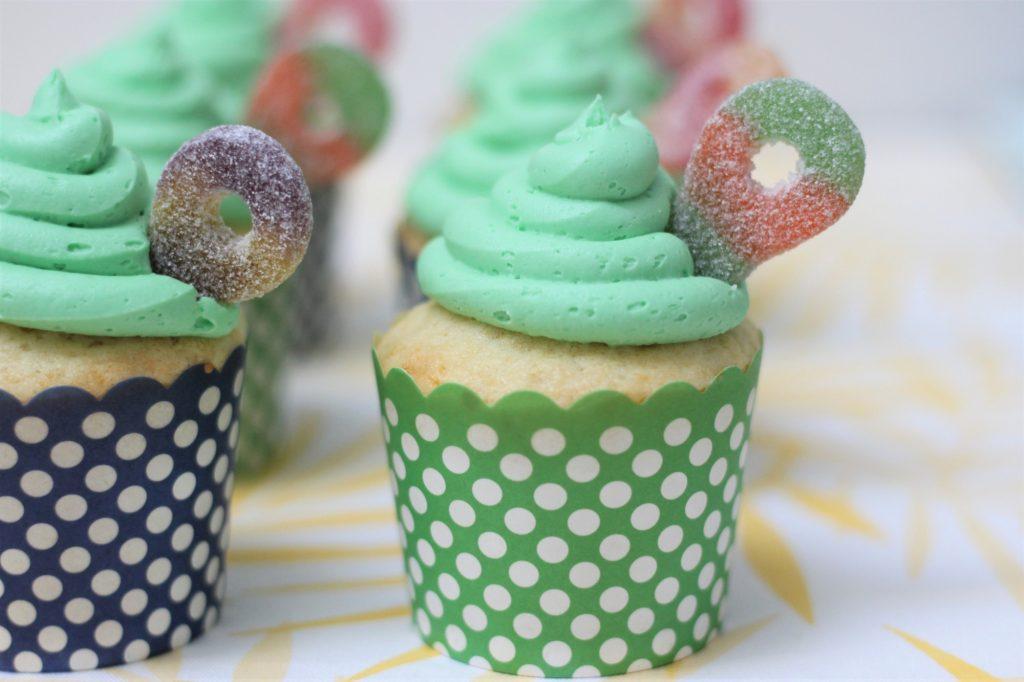 Lemon Cupcakes in a Citrus Wonderland
