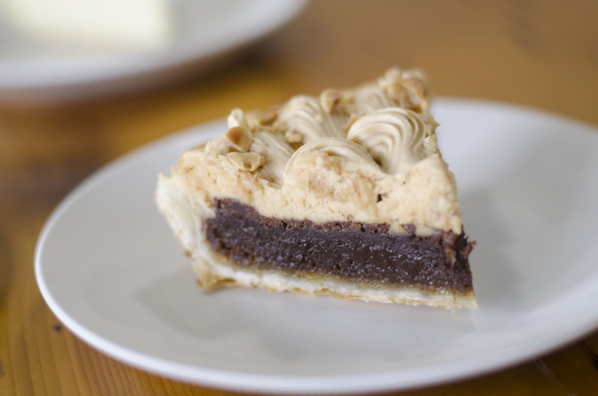 Chocolate Peanut Butter pie from Riverside Pie Cafe in Windsor, Ontario.