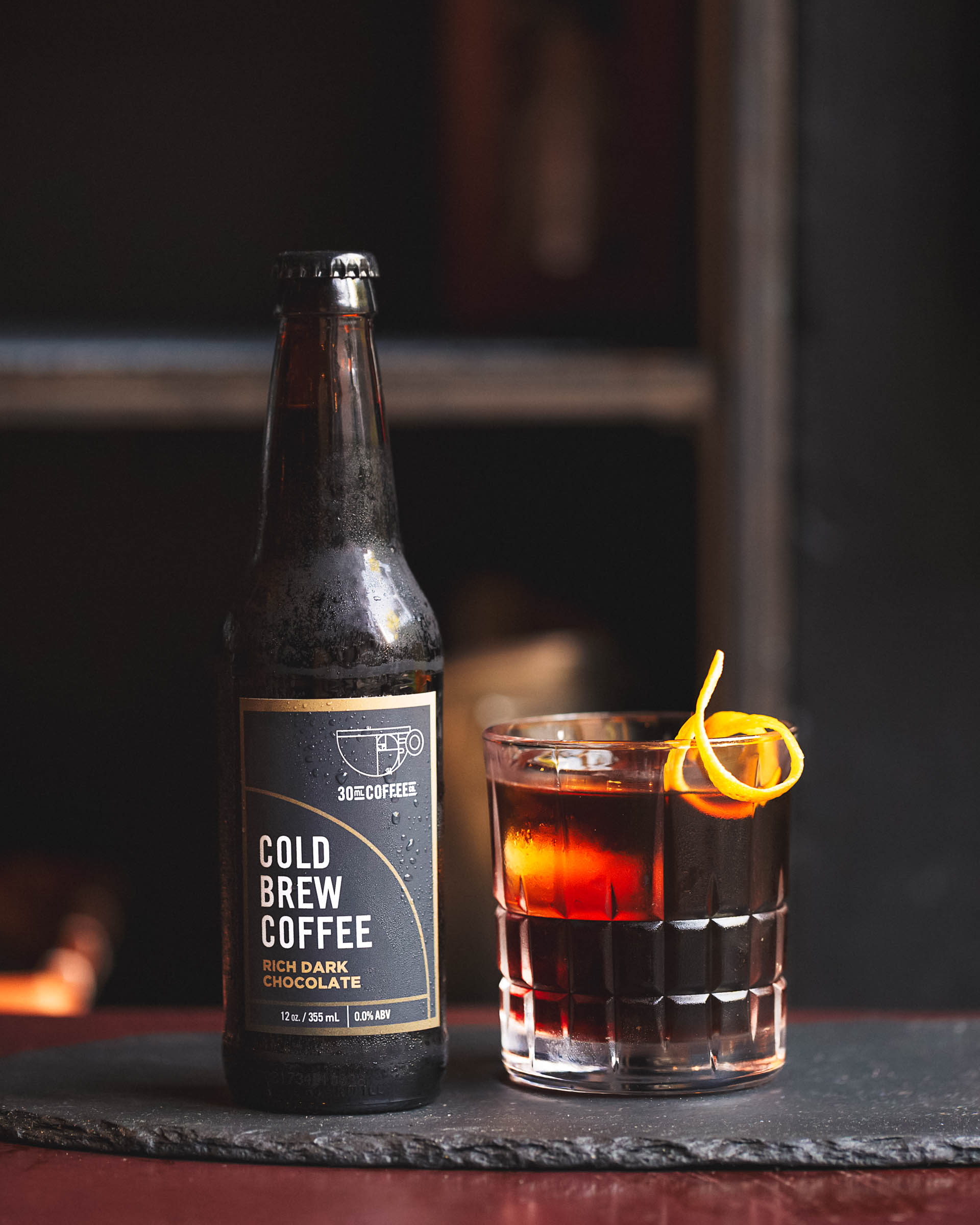 The Stay Classy cocktail made with 30ml Coffee Co. cold brew.