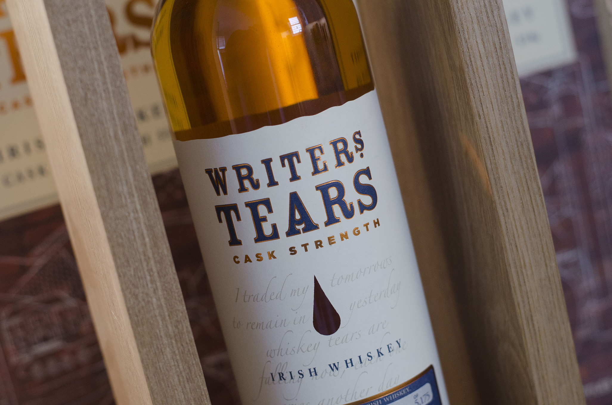 Writer's Tears Cask Strength Irish whiskey served at the 2019 Whiskytown Festival in Windsor, Ontairo.
