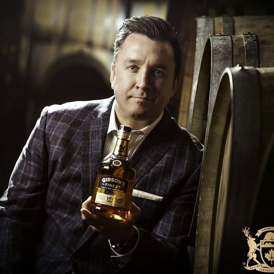 Joshua Groom, North American Brand Ambassador for Gibsons Finest whisky.