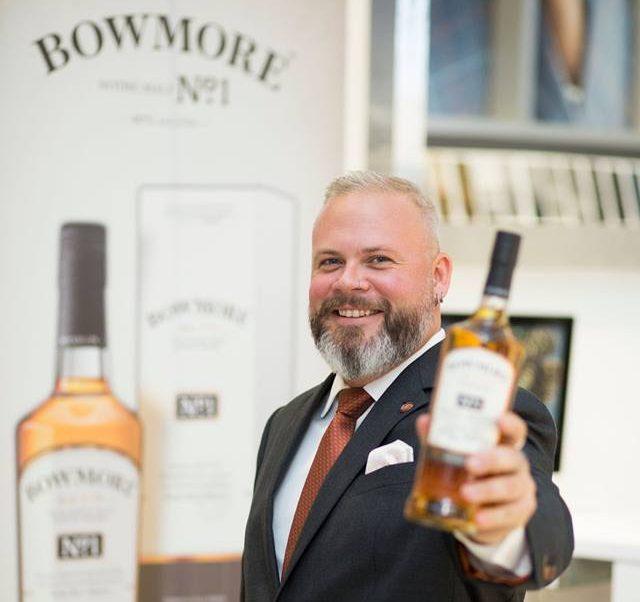 The World Whisk(e)y Ambassador to Canada, Matt Jones.