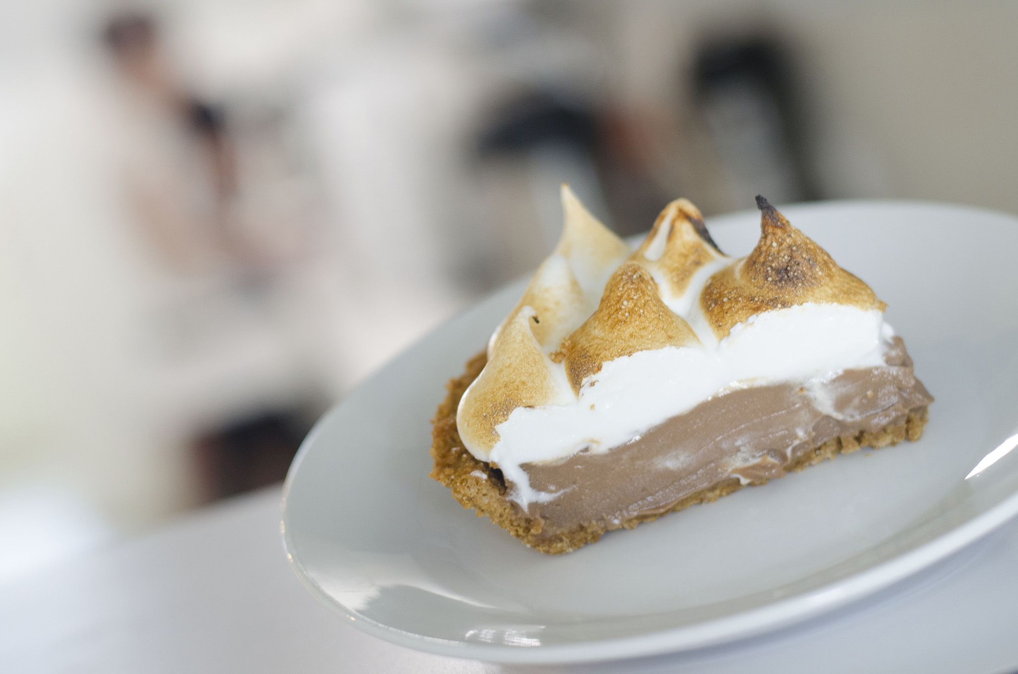 S'mores Pie from Riverside Pie Cafe in Windsor, Ontario.