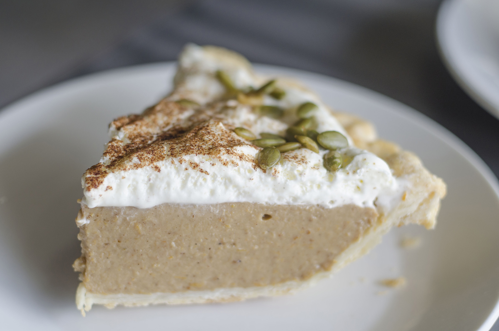 The Pumpkin Spice Latte Pie from Riverside Pie Cafe in Windsor, Ontario.