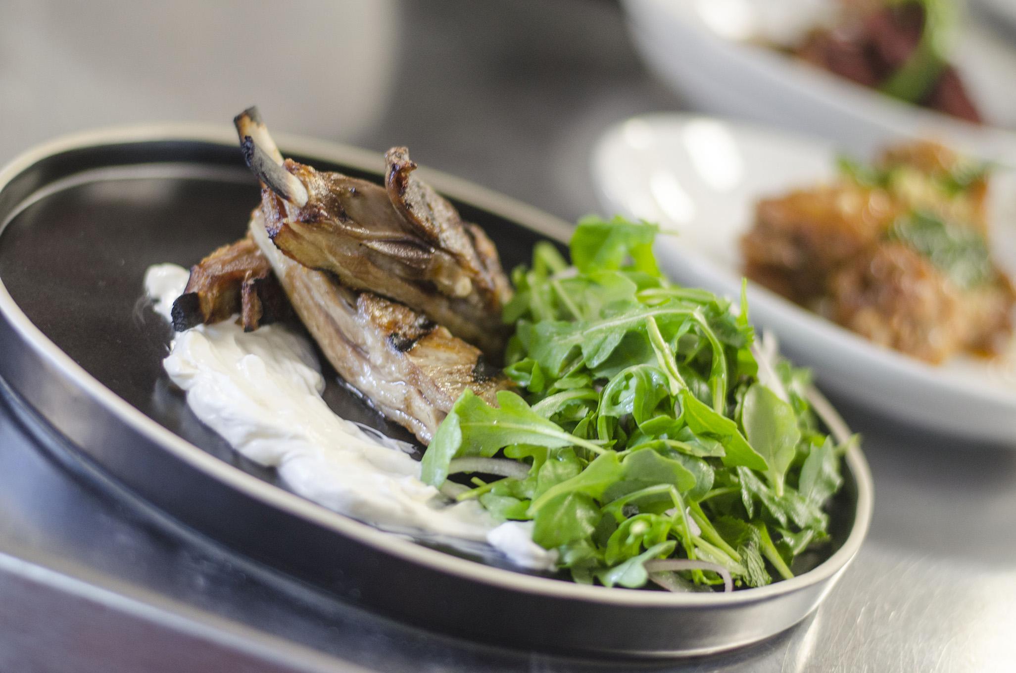 Lamb ribs on the Vine+Ash menu in Tecumseh, Ontario.