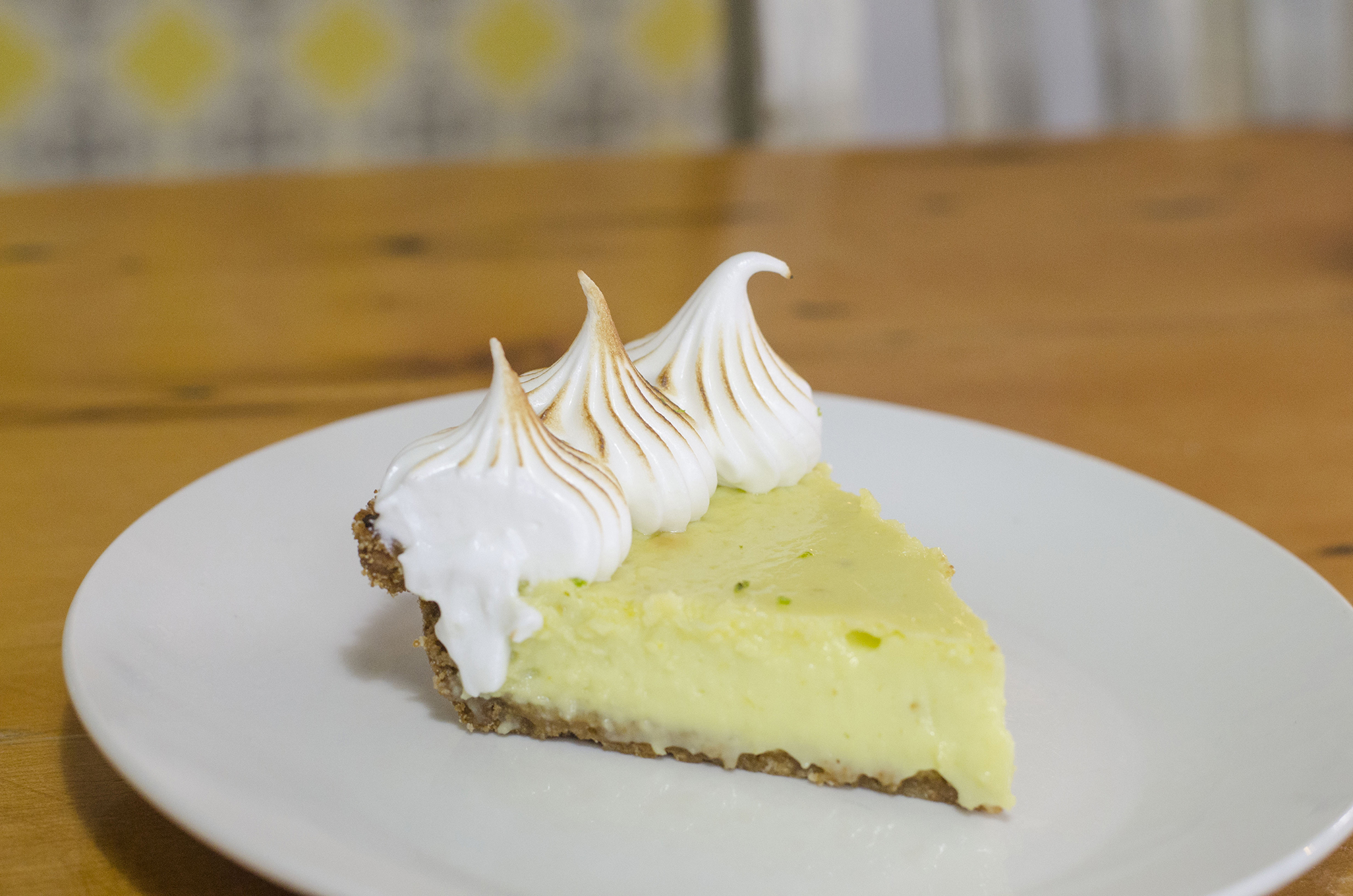 Key Lime Pie from Riverside Pie Cafe in Windsor, Ontario.