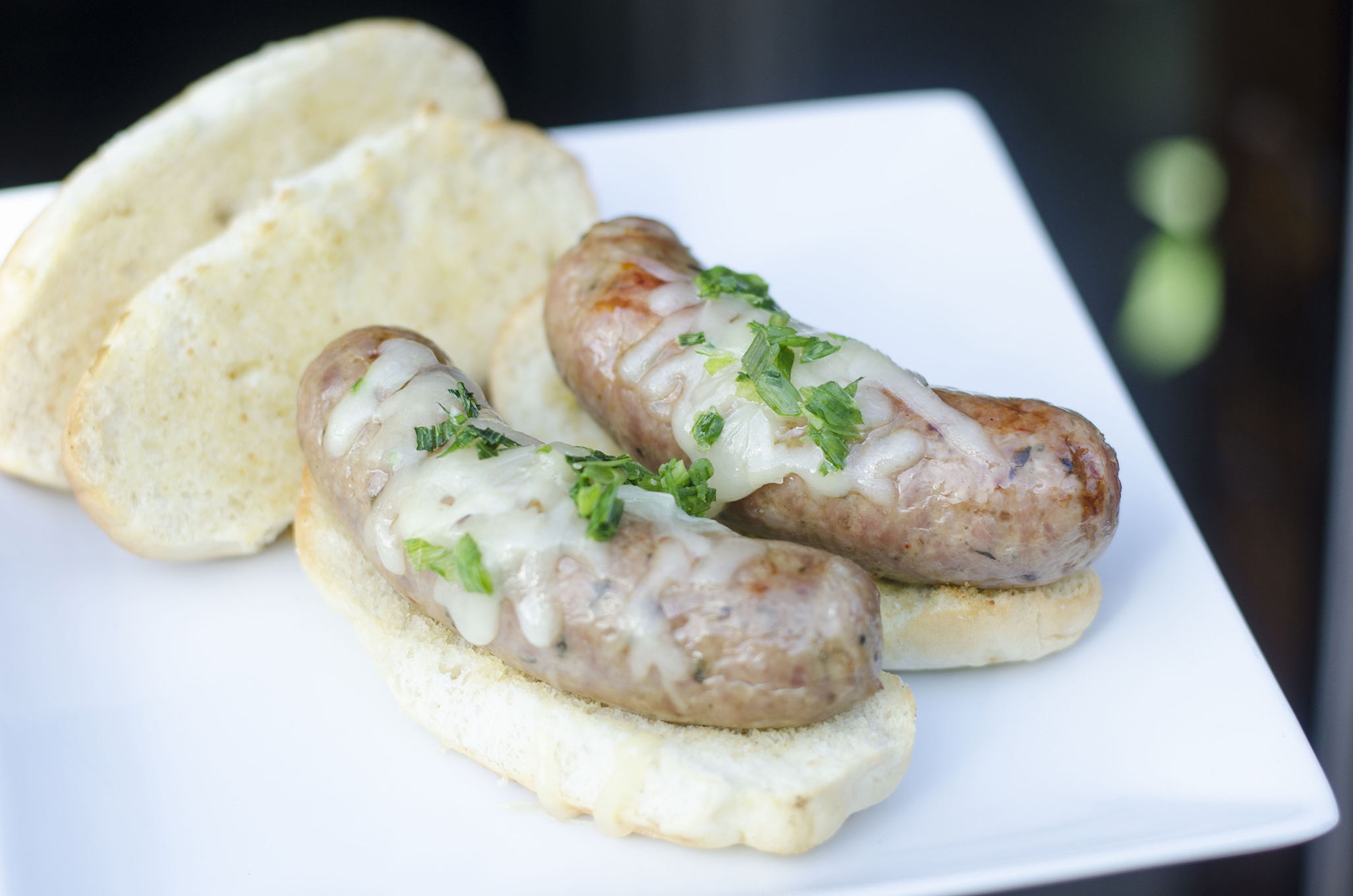 The French Onion sausage from Robbie's Gourmet Sausage Company in Windsor, Ontario.