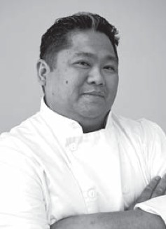 Chef Anthony-John Dalupan.