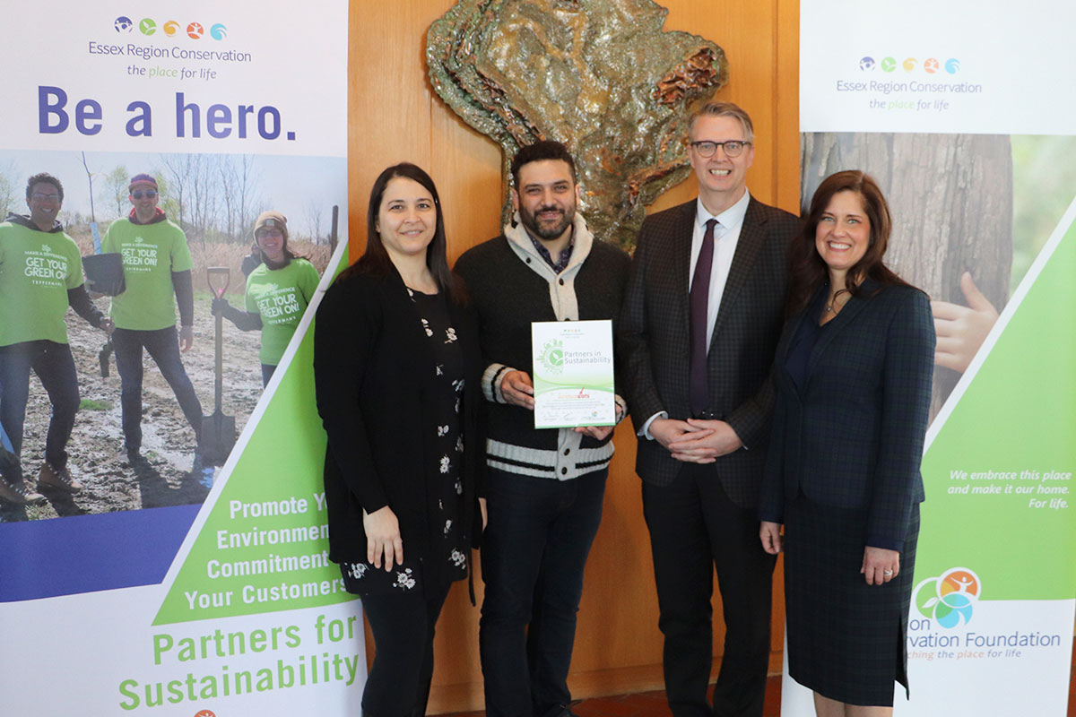 WindsorEats has become the first Partner in Sustainability for the Essex Region Conservation Foundation.