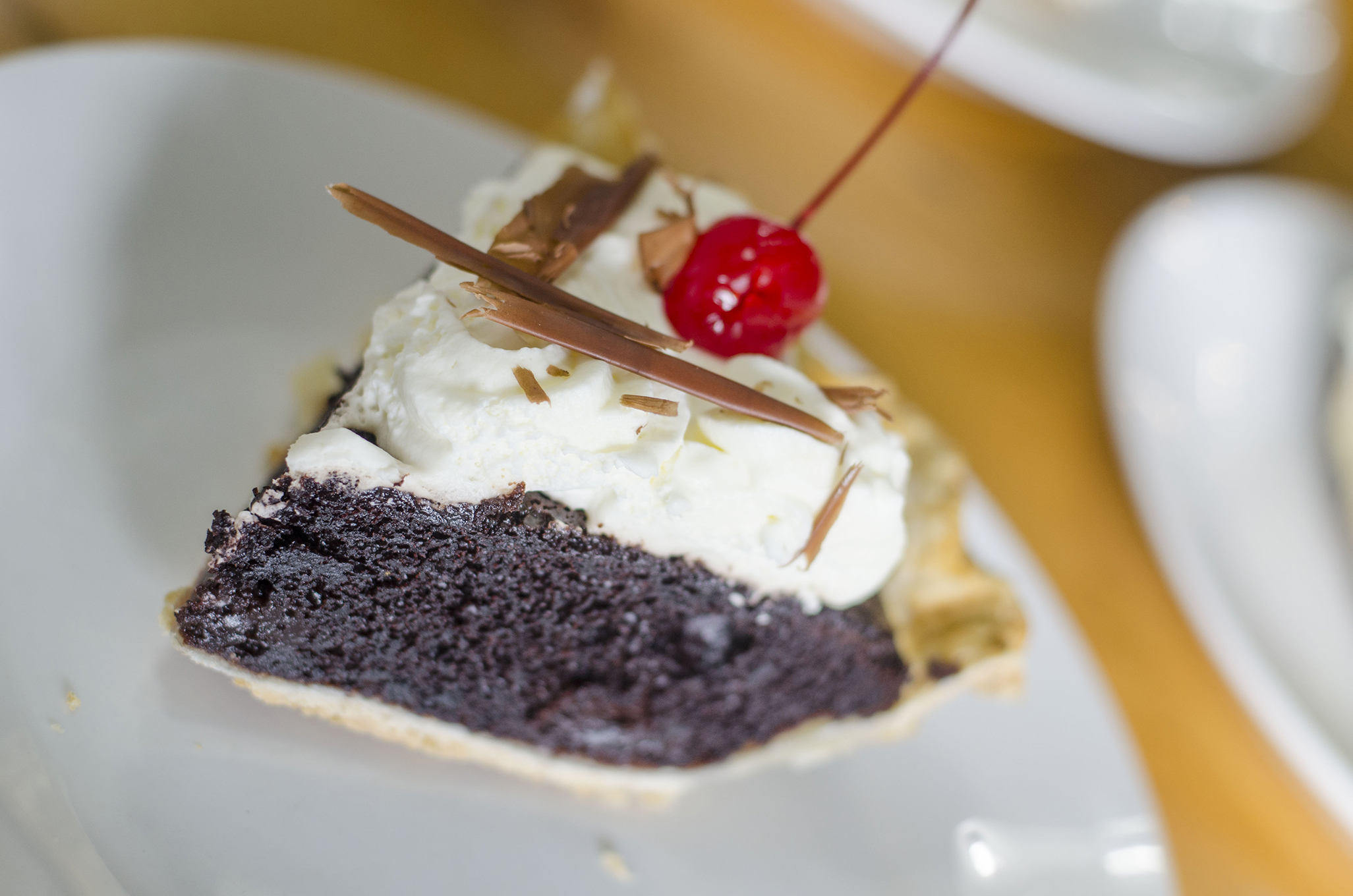 The Black Forest Pie from Riverside Pie Cafe in Windsor, Ontario.
