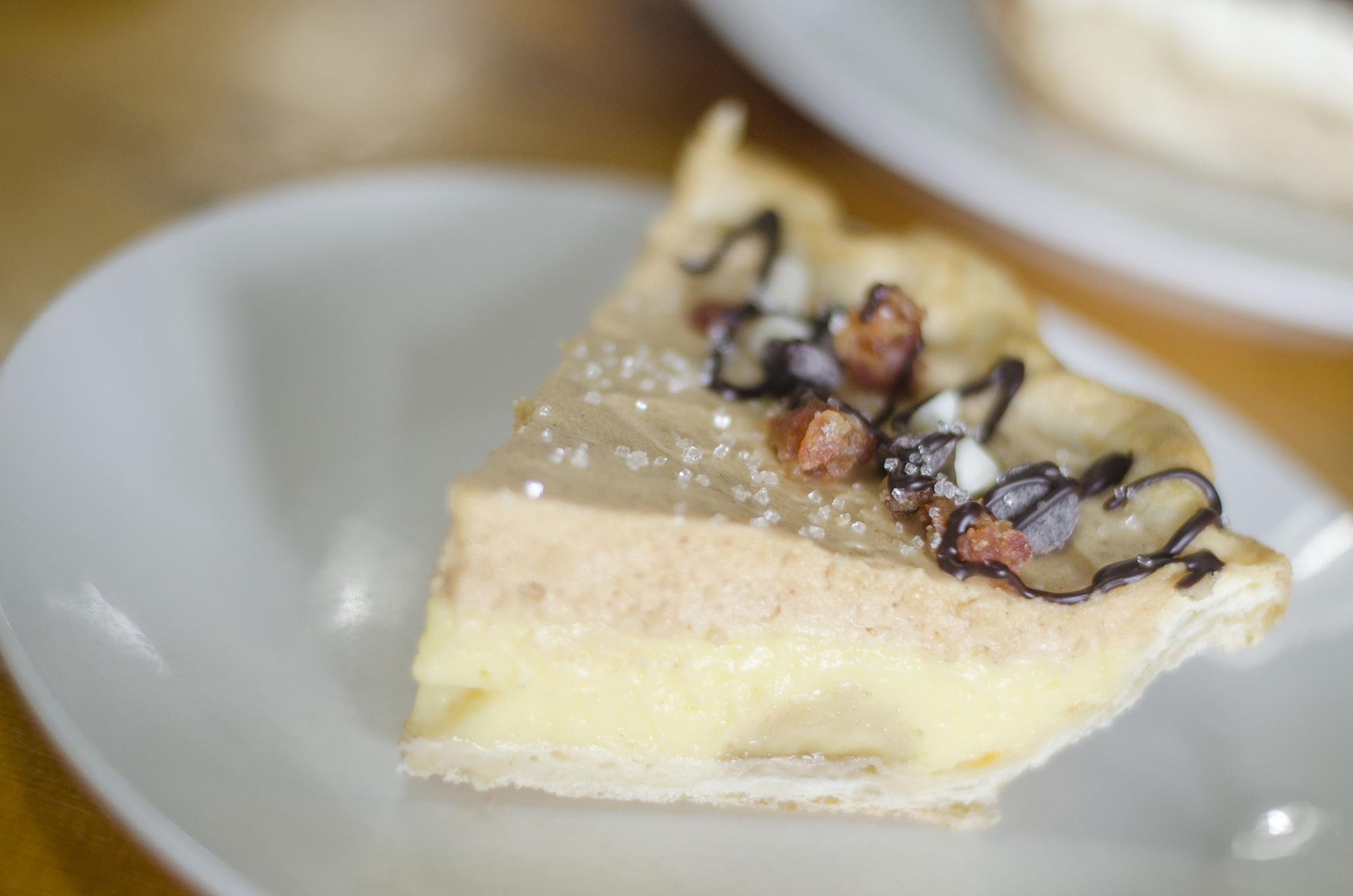 The Elvis Pie from Riverside Pie Cafe in Windsor, Ontario.