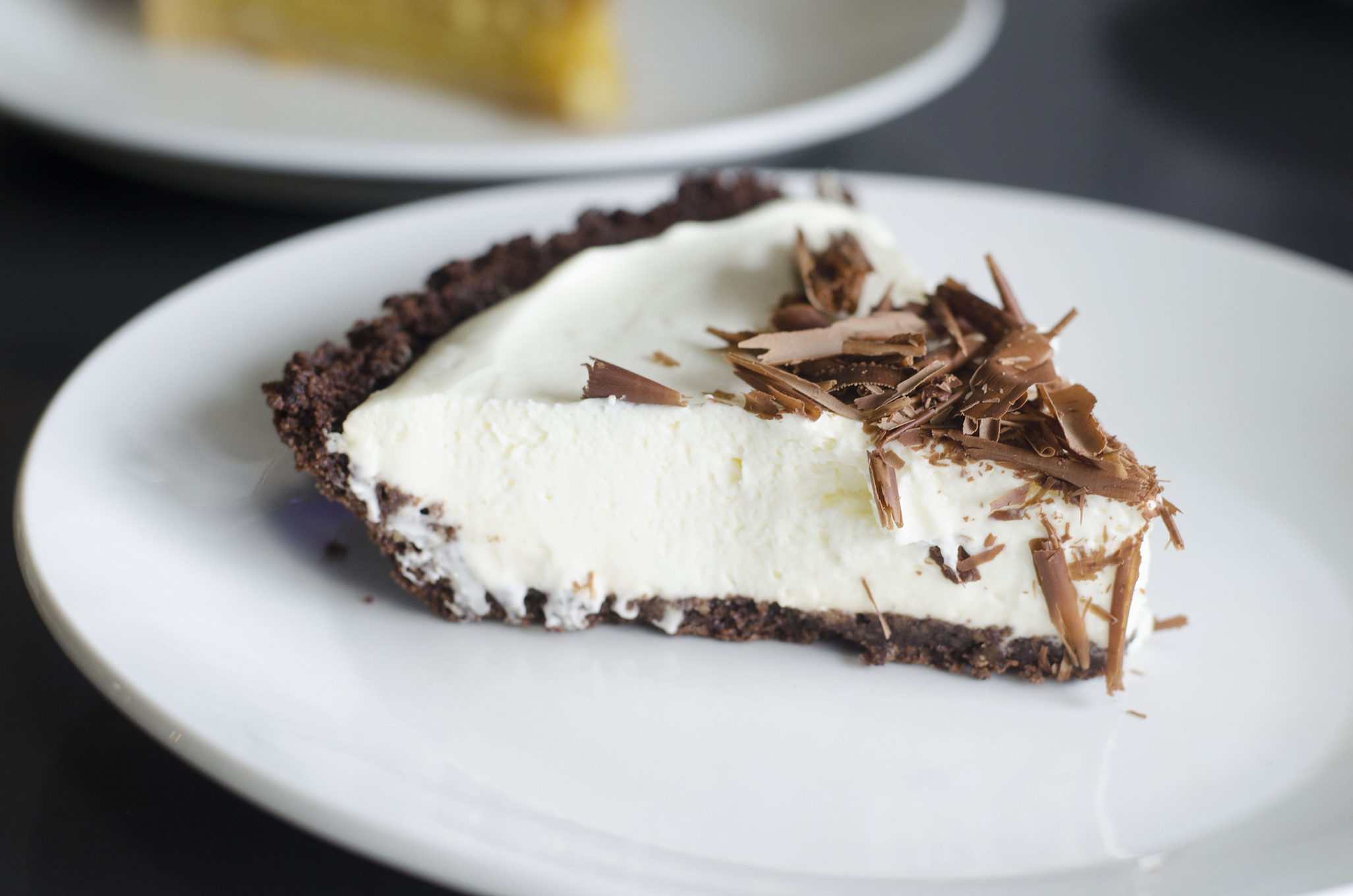 Mint Chocolate pie from Riverside Pie Cafe in Windsor, Ontario.