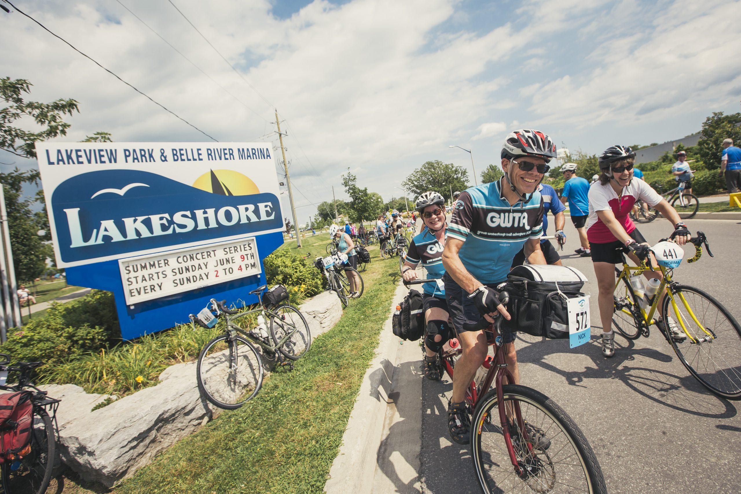 The Great Waterfront Trail brings you across Ontario by bike.