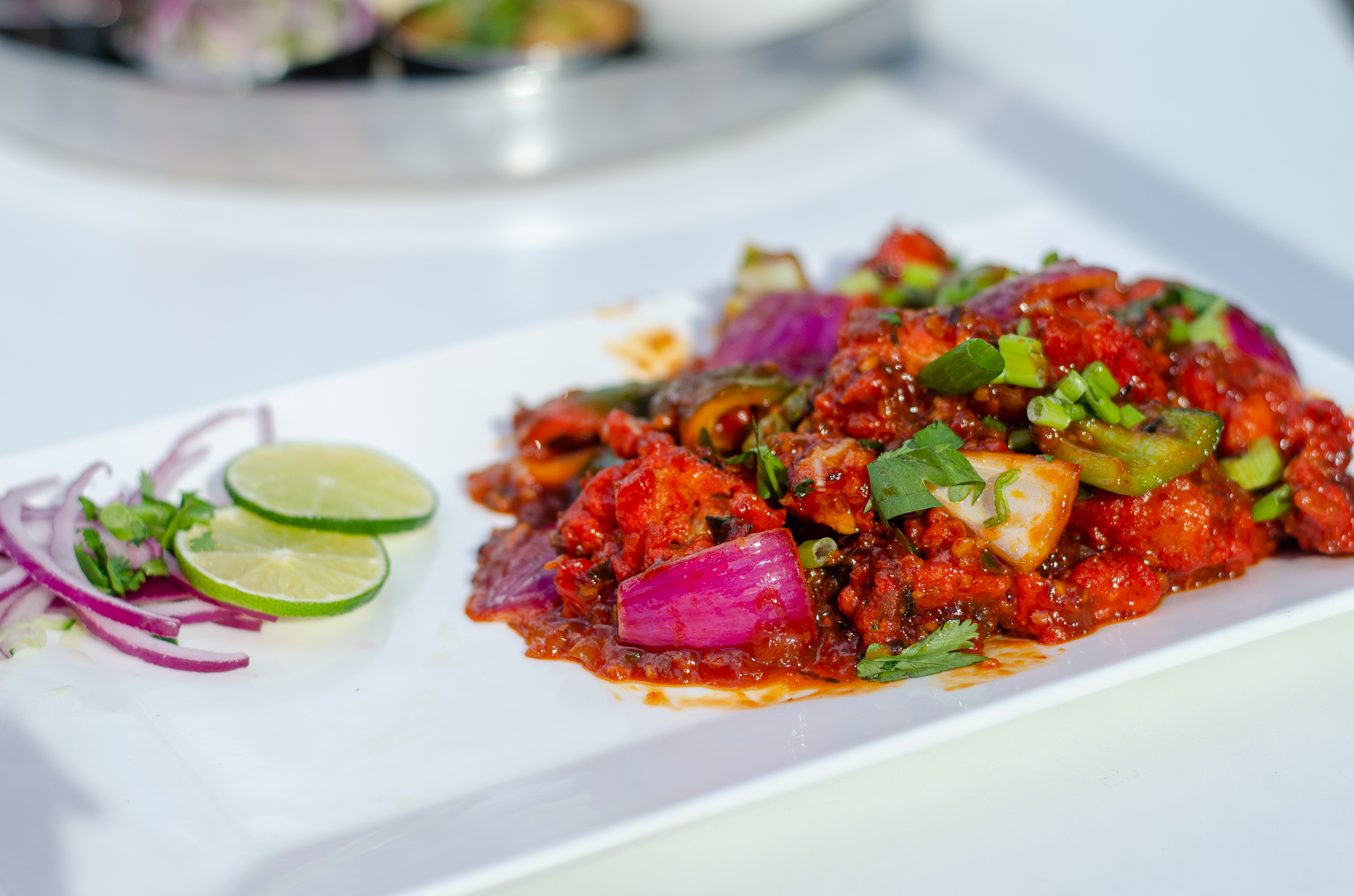 Chilli Fish from India Paradise in Windsor, Ontario.