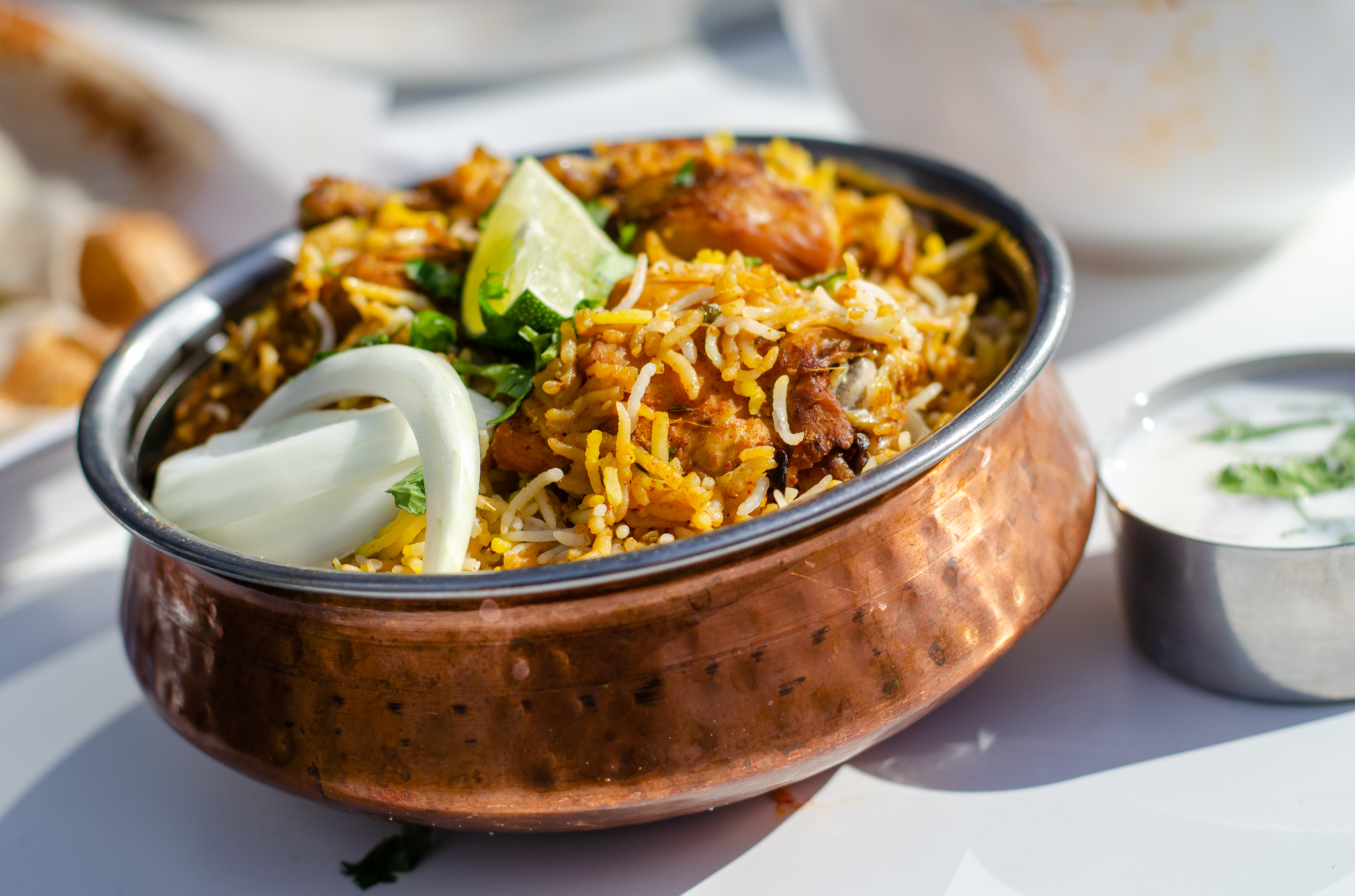 Chicken Biryani from India Paradise in Windsor, Ontario.