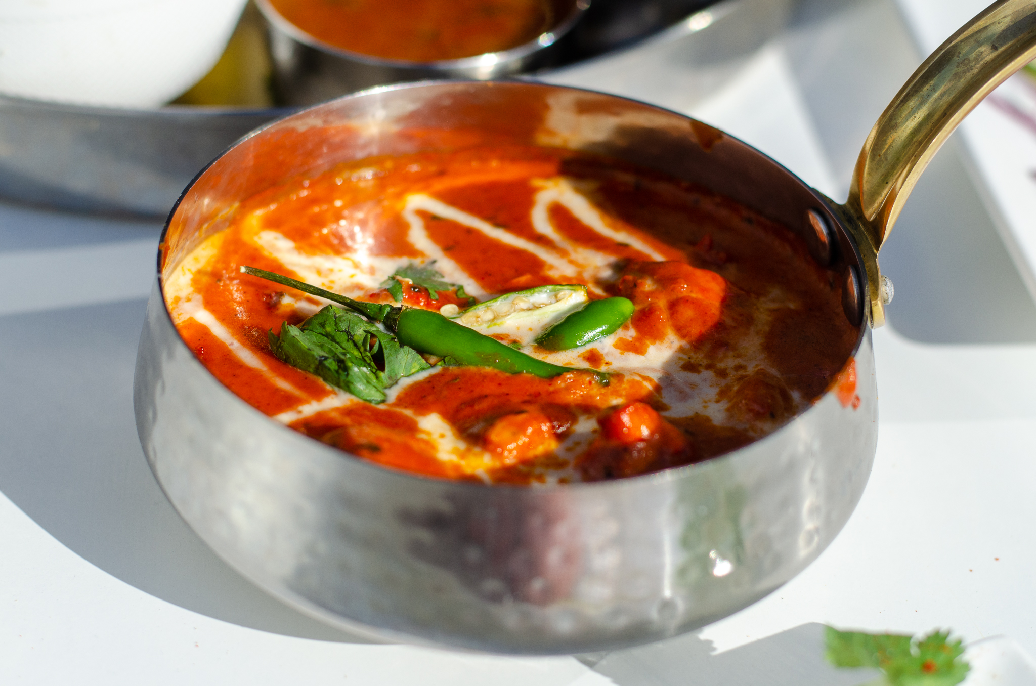 Butter Chicken from India Paradise in Windsor, Ontario.