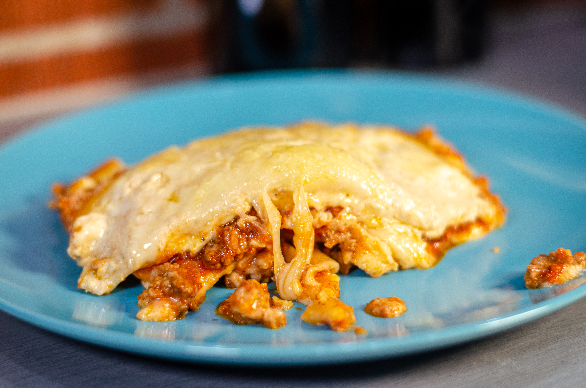 Lasagna from Little Foot Foods in Windsor, Ontario.