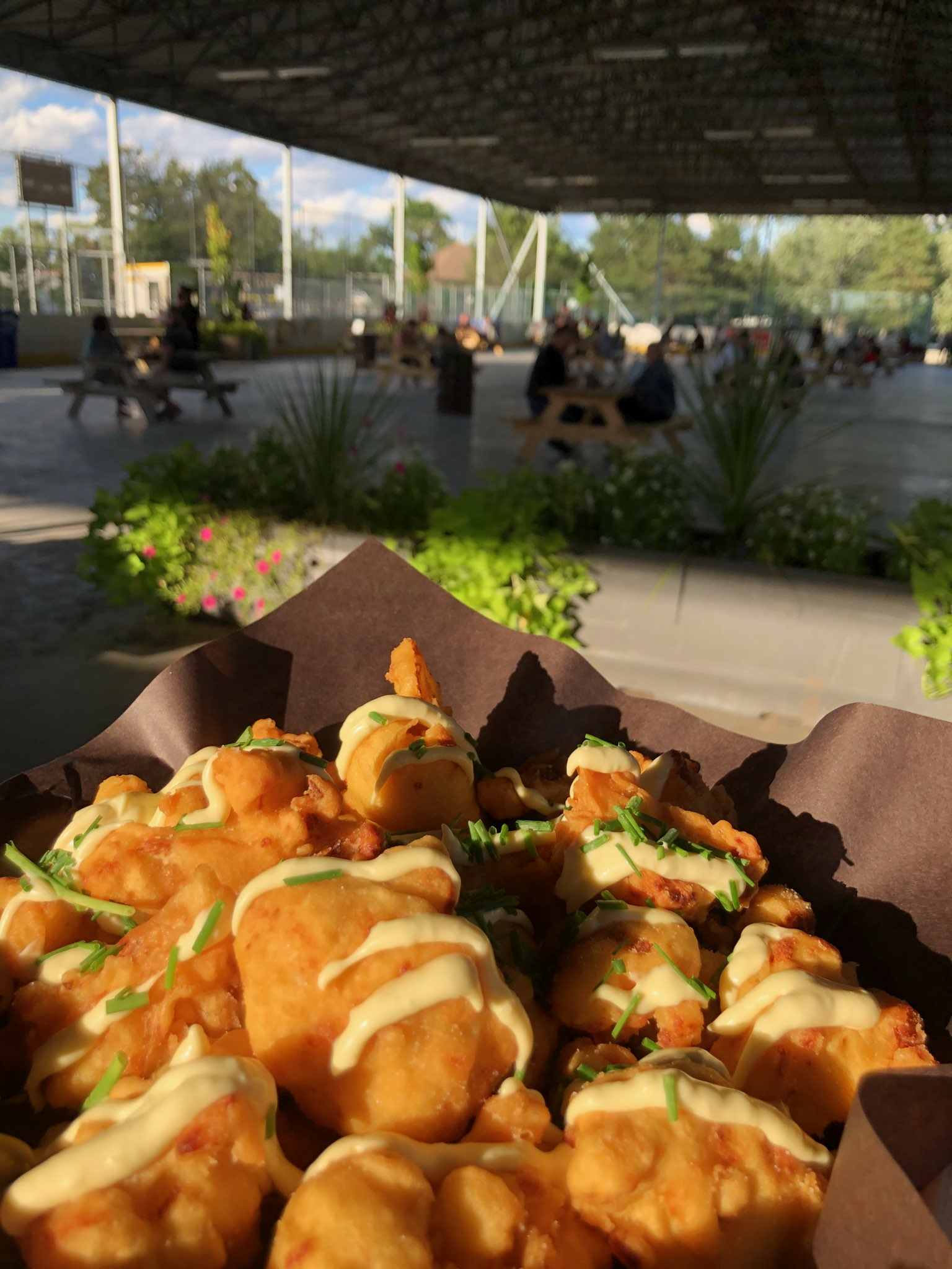 Cauli Crunch served up at the WindsorEats Outdoor Food Hall in Windsor, Ontario.