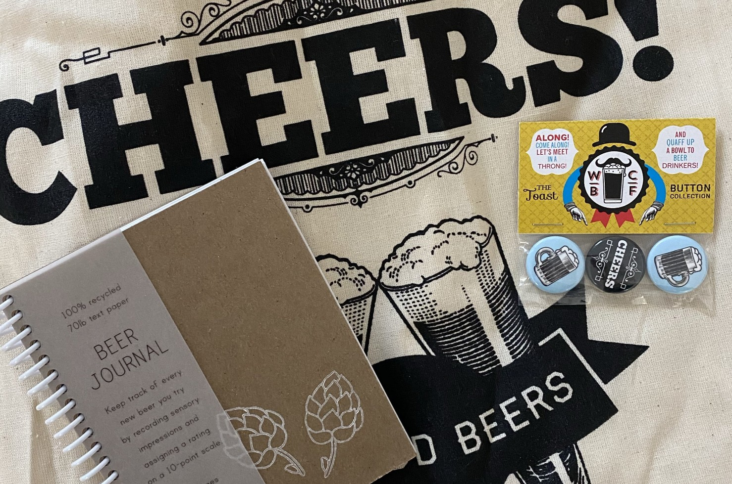 The Craft Beer Lovers Box from the Bevy Box.