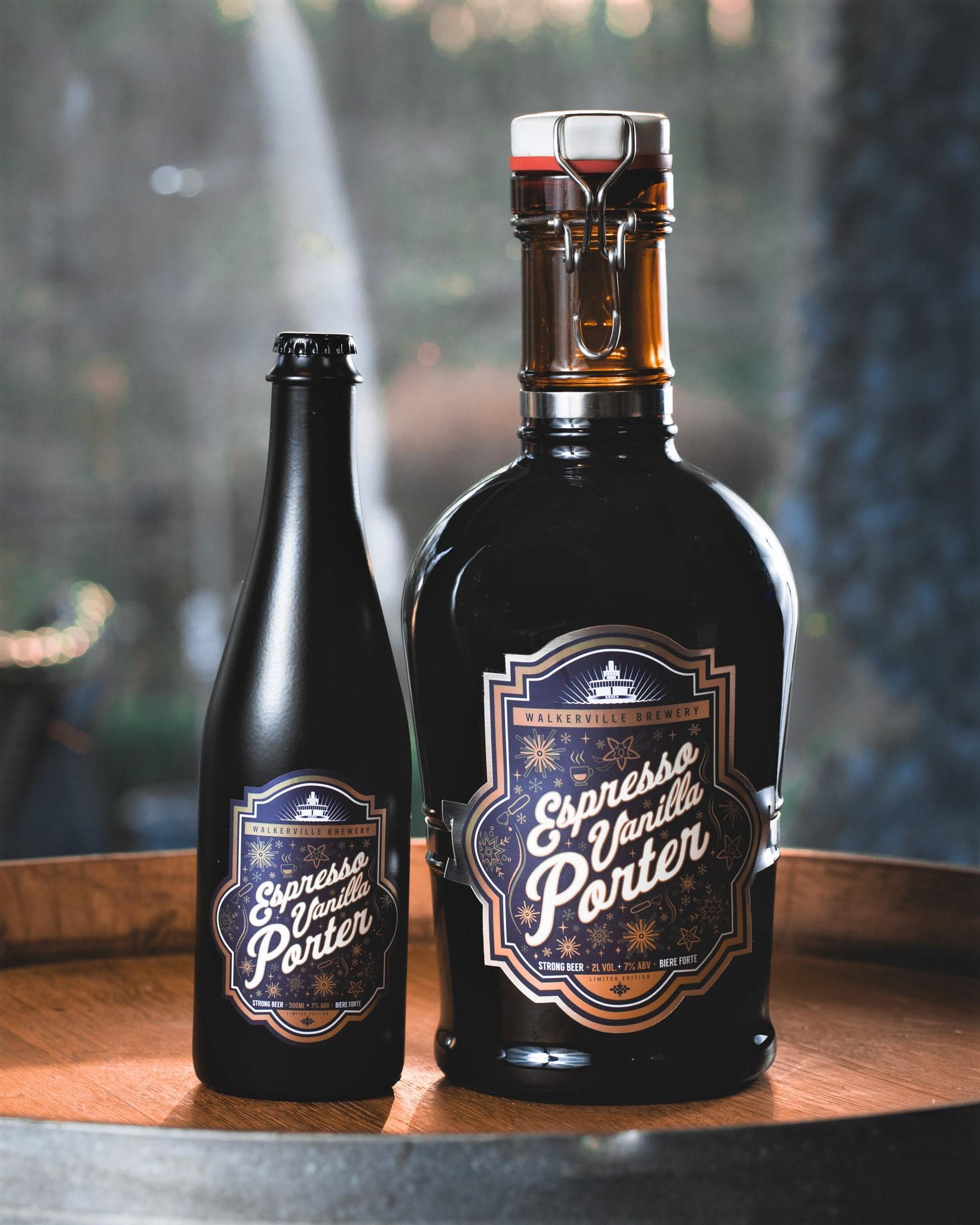 Espresso Vanilla Porter from Walkerville Brewery in Windsor, Ontario.