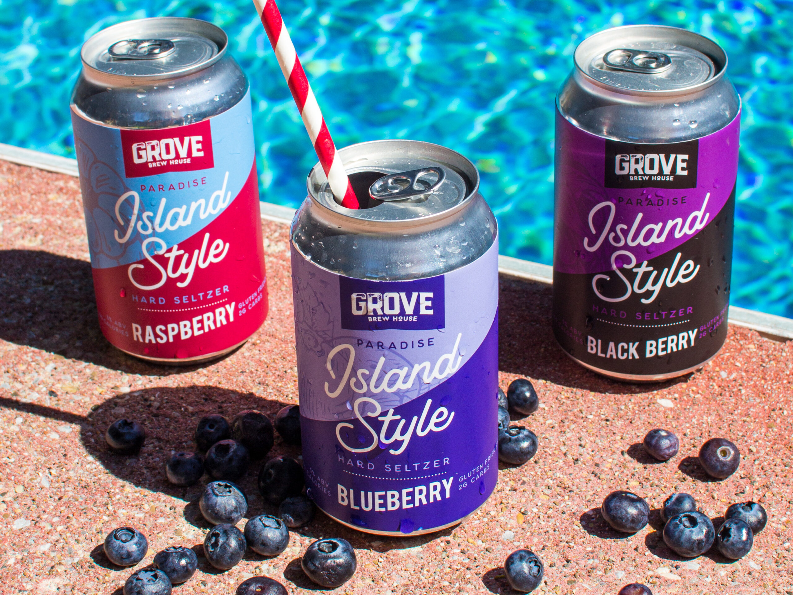 Island Style hard seltzer from Grove Brew House in Kingsville, Ontario.