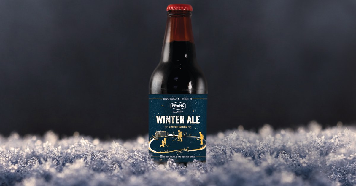 Winter Ale from Frank Brewing Co. in Tecumseh, Ontario.