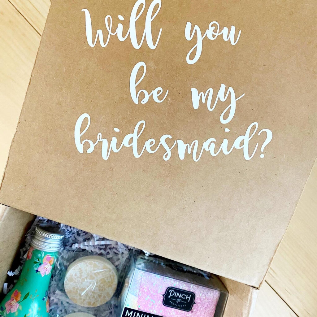 Bevy Bridesmaid Box