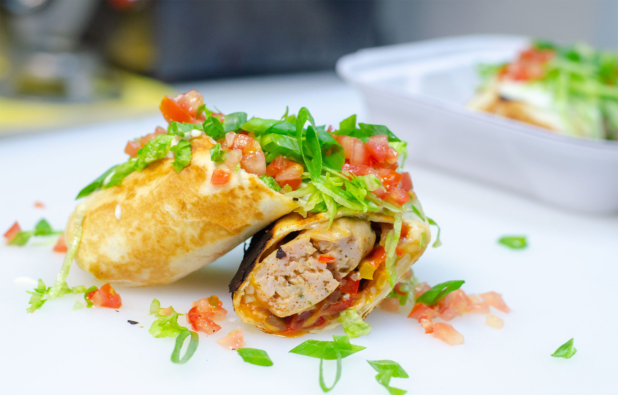 The Fajita Sausage from Robbie's Gourmet Sausage Co. in Windsor, Ontario.